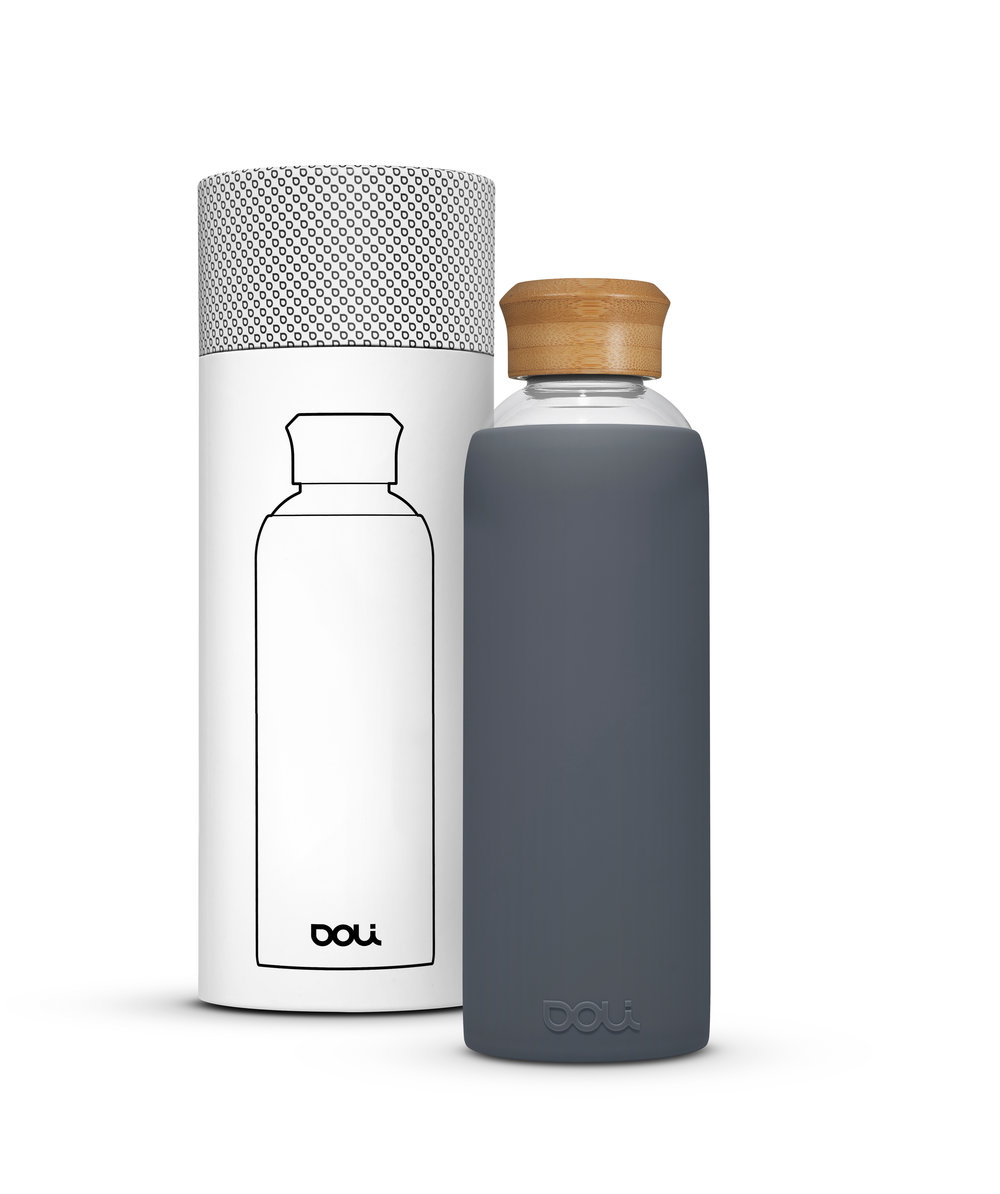 "Doli Trinkflasche ""Bamboo Grey"""